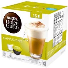 Cápsula Cappuccino Nescafé Dolce Gusto 16 Unidades 188g