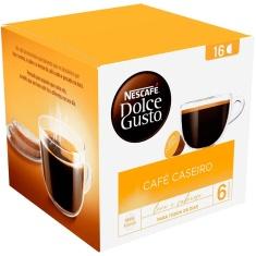 Cápsula Café Caseiro Nescafé Dolce Gusto 16 Unidades 128g