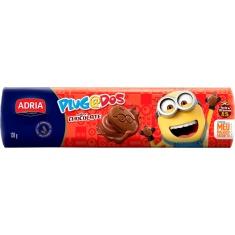 Biscoito Recheado Chocolate Meu Malvado Favorito Plugados Adria 130g