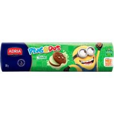Biscoito Recheado Chocolate e Limão Meu Malvado Favorito Plugados Adria 130g