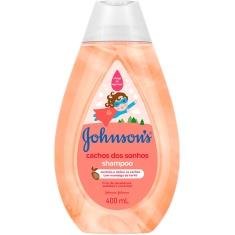 Shampoo Infantil Cachos dos Sonhos Johnsons 400ml
