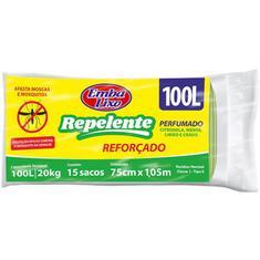 Saco para Lixo Repelente Embalixo 100L 15un.
