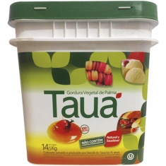 Gordura Vegetal de Palma Tauá 14,5kg