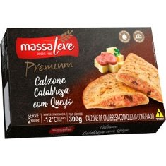 Calzone Calabresa com Queijo Premium Massa Leve 300g