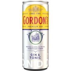 Gin Tônica London Dry Premium Gordons 269ml