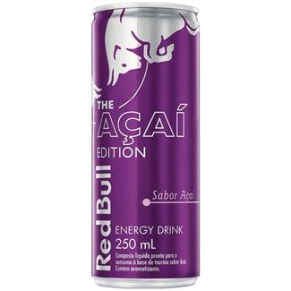 Energético Red Bull Energy Drink Açaí 250ml
