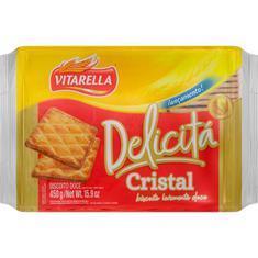 Biscoito Amanteigado Delicitá Cristal Vitarella 450g