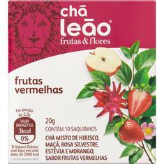 Chá Misto Frutas Vermelhas Chá Leão 10 Sachês