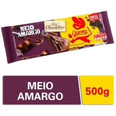 Cobertura Chocolate Meio Amargo Chocolateria Garoto 500g
