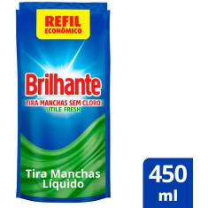 Tira Manchas Utile Fresh Brilhante 450ml