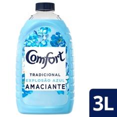 Amaciante Explosão Azul Comfort 3L