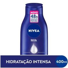 Loção Deo-Hidratante Corporal Milk Hidratação Profunda Nivea 400 ml