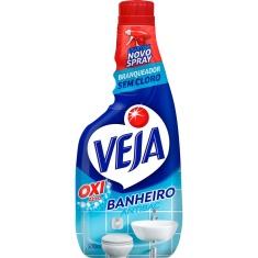 Limpador Spray Anti Bac Banheiro Oxi Refil Veja 500ml