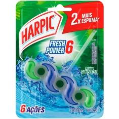 Bloco Sanitário Fresh Power 6 Pinho Campestre Harpic 39g