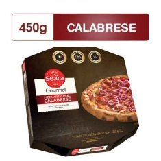 Pizza Calabresa Gourmet Seara 450g