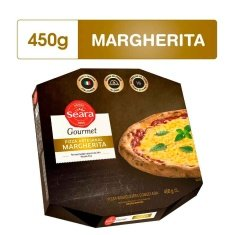 Pizza Margherita Gourmet Seara 450g