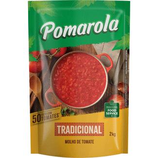 Molho de Tomate Tradicional Pomarola 2kg