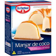Pó para Preparo de Manjar de Coco com Calda de Ameixa Oetker 200g