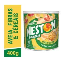 Cereal em Flocos 3 Cereais Neston Nestlé 400g
