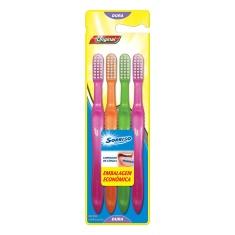 Escova Dental Original Sorriso 4 Unidades