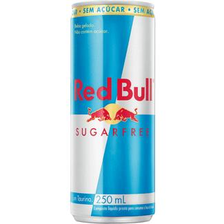 Energético Red Bull Energy Drink Sem Açúcar 250ml