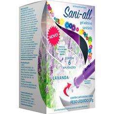 Gel Adesivo Sanitário com Aplicador Lavanda Sani-All 37g
