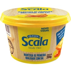 Manteiga c/ Sal Scala 200g