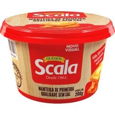 Manteiga S/ Sal Scala 200g