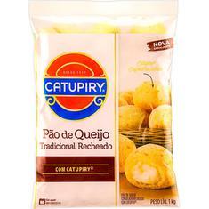 Pão de Queijo Tradicional com Recheio Catupiry 1kg