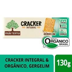 Biscoito Cracker Integral Orgânico Gergelim Tribos Mãe Terra 130g