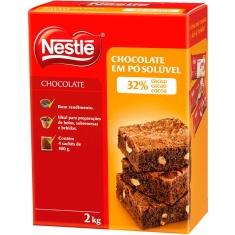 Chocolate em Pó 32% Cacau Nestlé 2Kg