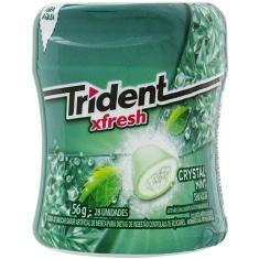 Goma de Mascar Menta Zero Açúcar Xfresh Trident 56g