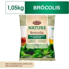 Brócolis Congelado Nature Seara 1,05Kg