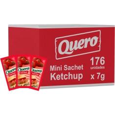 Ketchup Tradicional Quero Sachê 176x7g