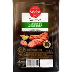 Linguiça de Alho Poró Seara Gourmet 500g