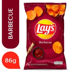Batata Lays American Barbecue Elma Chips 86g