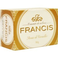 Sabonete Francis Clássico Branco 90g