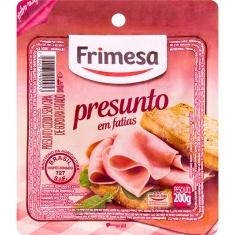 Presunto Cozido sem Capa de Gordura Fatiado Frimesa 200g