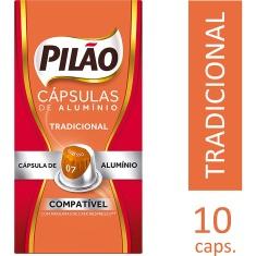 Cápsulas de Café Espresso 07 Pilão 10un