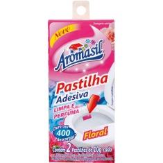 Pastilha Adesiva Floral Aromasil 2X10g
