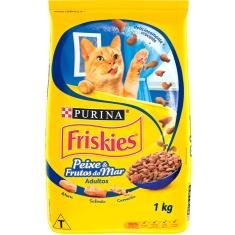 Ração para Gatos sabor Frutos do Mar Friskies 1kg