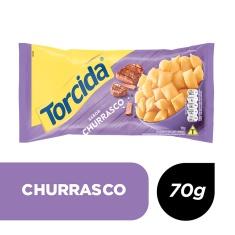 Salgadinho Churrasco Torcida 70g