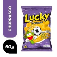 Salgadinho de Milho e Churrasco Lucky 60g