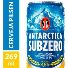 Cerveja Pilsen Sub Zero Antarctica 269ml