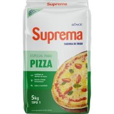 Farinha de Trigo Especial para Pizza Suprema Bunge 5Kg