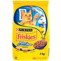 Ração para Gatos Sabor Frutos do Mar Friskies 3kg