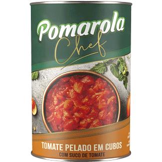 Tomate Pelado em Cubos Pomarola 400g