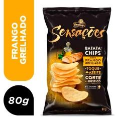 Salgadinho Frango Grelhado Sensação Elma Chips 80g