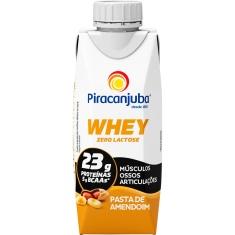 Bebida Láctea Whey Pasta de Amendoim Piracanjuba 250ml