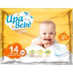 Fralda Descartável Upa Bebê Basic Tamanho XXG 14un